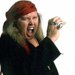 Sam Kinison for LaughTrack Magazine a few months before tragic death